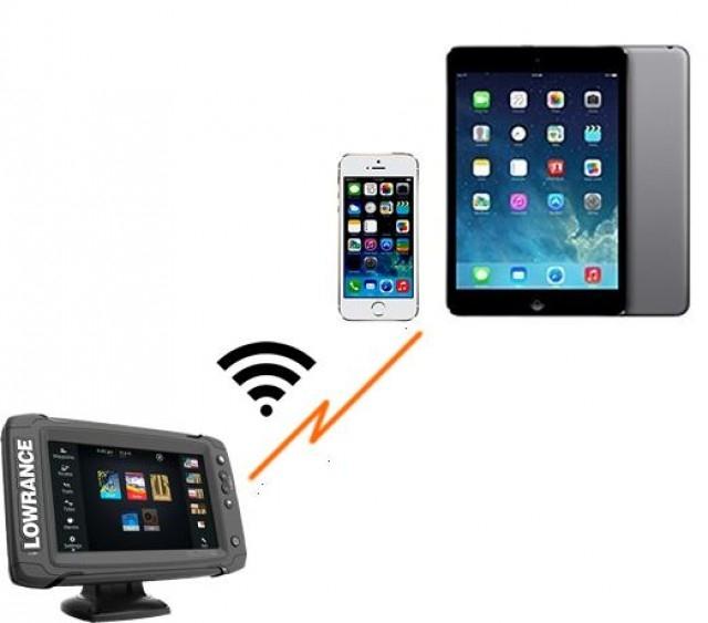 Lowrance Elite-7TiをGoFree Wi-fiでインターネットに繋ぐ方法 の写真